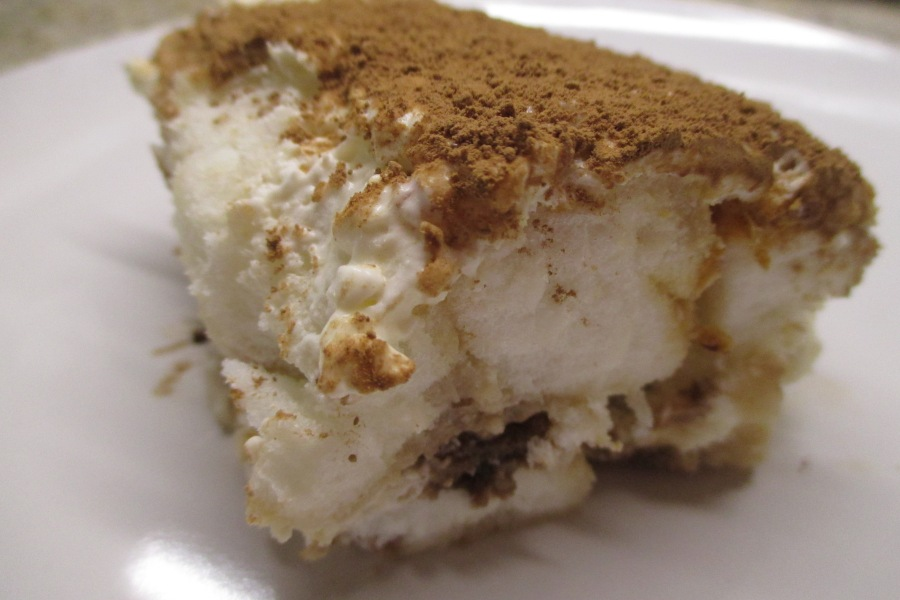 angelfood cheesecake tiramisu