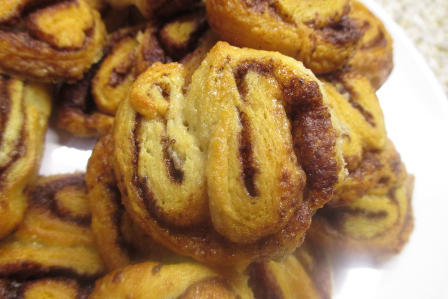 My baking experiment #163 – hot chocolate palmiers